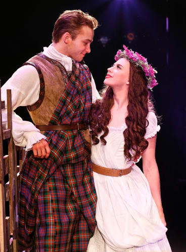 Rohan Browne as Tommy and Genevieve Kingsford as Fiona.