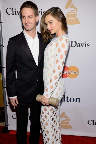 Miranda has kept her romance with SnapChat founder Evan Spiegel fairly quiet.