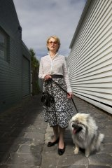 Penny McCasker of the Voluntary Euthanasia Party.