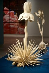 <i>Exotic Flowers and Rare Herbs series</i>, 2007, by Cang Xin, reflects the artist's shamanistic beliefs in the interrelationship of all living things.