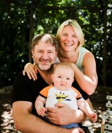 Alex Paterson and Karen Davies of Macgregor with their son Lachlan Alexander Paterson.