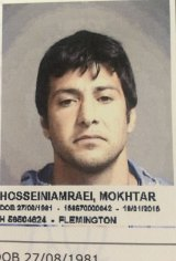 Mokhtar Hosseiniamraei murdered his estranged wife with a pair of scissors in January 2015.
