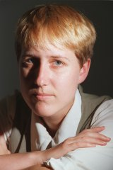Sally McManus, pictured in 1995, when she was an organiser with the Australian Services Union.