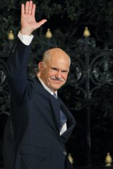 """""""It's time to build, together, a new political home"""": Former Greek prime minster George Papandreou."""