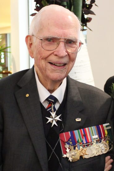 Rowley Richards' war efforts and contribution to medicine were acknowledged at the highest levels.