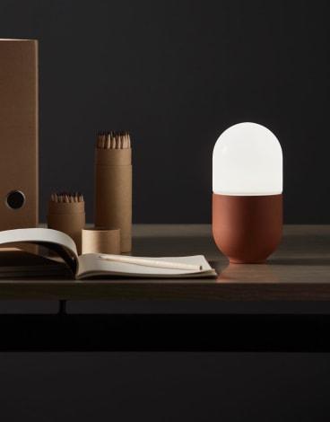 Duo small table lamp, Wyalla Studio.