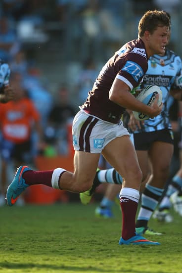 Former Manly forward Liam Knight will join the Raiders.