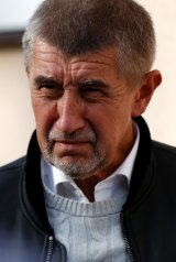 Czech billionaire and leader of the ANO 2011 political movement Andrej Babis.