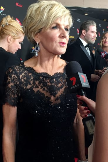 Foreign Minister Julie Bishop at the gala.