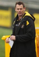 Former AFL footballer David King.