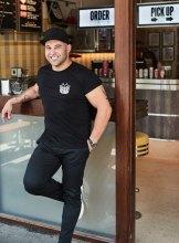 Shane Delia at his Collingwood kebab diner Biggie Smalls.