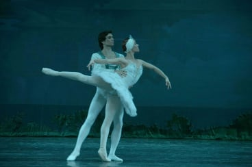 A scene from the Russian National Ballet Theatre's performance of Swan Lake at Queanbeyan.