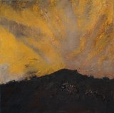<i>Storm at Sunset</i> by Mandy Martin poses questions of climate change.