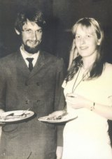 Bob Ellis and Anne Brooksbank in 1968.