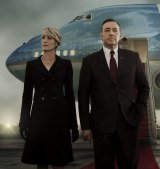 Kevin Spacey and Robin Wright in the Netflix drama House of Cards, which has changed the way we watch television.
