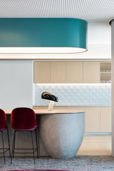 """""""This space is designed to be neither fussy nor ostentatious – a bit Japanese, a bit Scandinavian, while retaining an Australian openness."""" - Angela Ferguson, interior designer."""