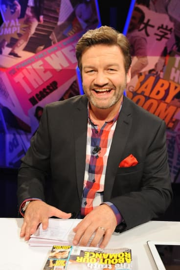 Mooney won plenty of fans with his quick wit and irreverence hosting  Dirty Laundry Live  on ABC-TV.
