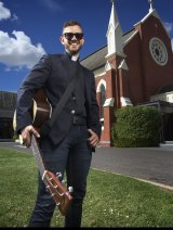 Father Rob Galea, priest by day, pop star by night.