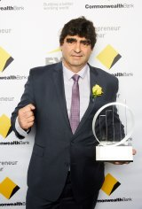 Tony Galati won the industry category at the EY Entrepreneur of the Year awards.