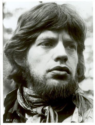 Mick Jagger as Ned Kelly.