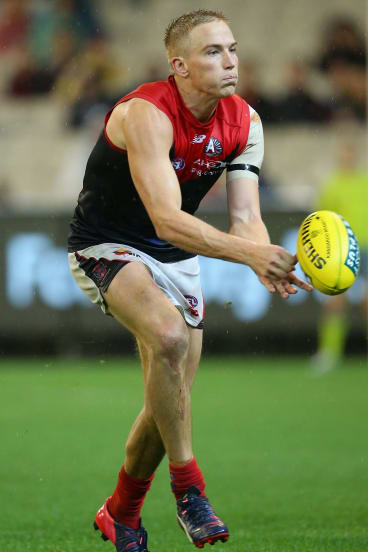 Man possessed: Demons midfielder Bernie Vince now has a best and fairest at two clubs.