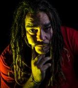 Indigenous rap artist Dallas Woods.