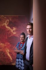 """Science Gallery director Rose Hiscock and creative director Ryan Jefferies at the gallery. """"We wanted to make this fun."""""""
