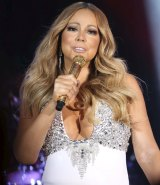 Mariah Carey at Crown Casino NYE.