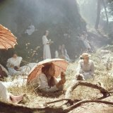 "A scene from the film ""Picnic at Hanging Rock""."