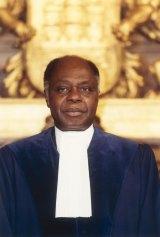 Thomas Mensah, jusrist and diplomat from Ghana.