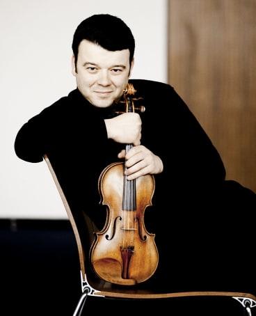 Vadim Gluzman, a soloist who knows his place.