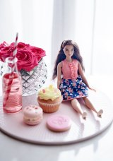 Barbie Fashionista children's high tea at the Langham Hotel.