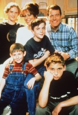 Cranston with his <i>Malcolm in the Middle</i> cast mates.