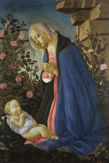 <i>The Virgin Adoring the Sleeping Christ Child</i> (c1485) has only recently been recognised as a work by Renaissance master Botticelli.