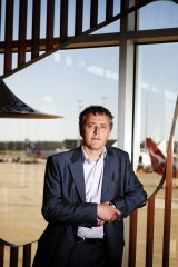 Chris Woodruff, CEO of Melbourne Airport.