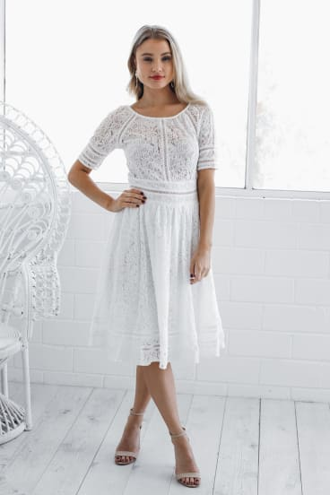 Summer dresses are bound to be popular sales bargains, such as this one from esther.com.au.
