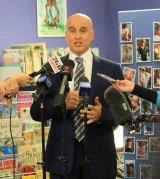 NSW Education Minister Adrian Piccoli at Brookvale Public School