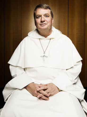 Big task: Sydney's new archbishop, Anthony Fisher.