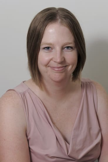 The Sunday Canberra Times' editor Meredith Clisby.