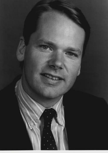 Mark Colvin, pictured in 1988.