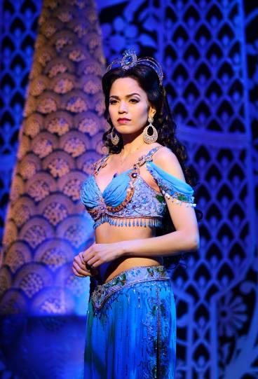 Arielle Jacobs as Jasmine in Sydney's Aladdin.