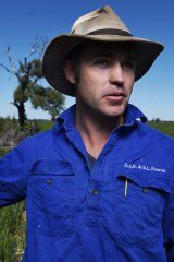 Farmer Oscar Pearse hopes the changes would allow him to remove 400 paddock trees.