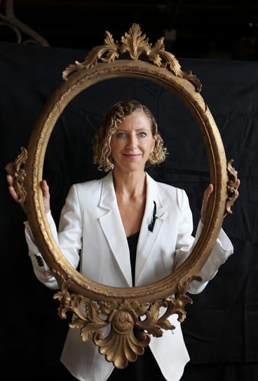 Joanna Murray Smith at the Sydney Theatre Company in 2013.