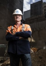 Peter McClelland of suicide prevention charity Mates in Construction.
