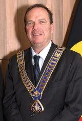 New Waverley mayor John Wakefield.