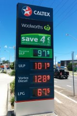 Woolworths has used its fuel business to drive grocery sales.