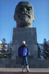 Another monument in the east Siberian city of Ulan Ude.