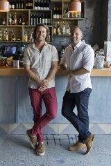 French flair: Hamish Watts and Ben Carroll have revived a time-honoured haunt.