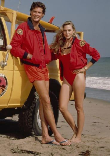 David Hasselhoff in Baywatch.