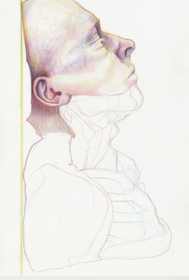 Tony Ameneiro, Wilson Head No 13, in Head over head at Megalo Print Gallery.?